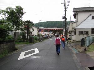 八幡神社から相楽神社へ