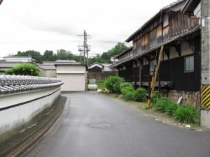 相楽神社から稲荷神社へ