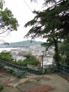 旧鳥羽小学校からの眺望