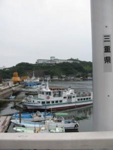 安楽島大橋からの風景