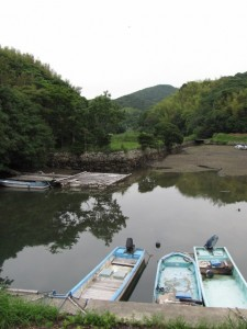 安楽島漁港の入江