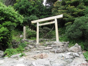 伊射波神社の鳥居