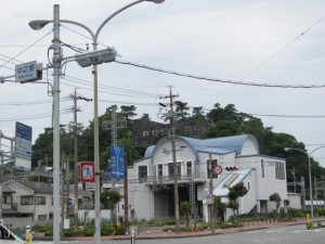 近鉄 中之郷駅と旧鳥羽小学校