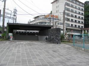 鳥羽駅近くの地下道