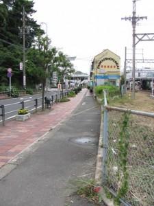 JR鳥羽駅へ