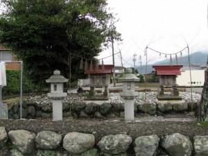 白鷺苑(ミニ姫路城)の祠