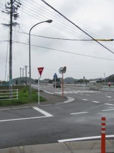 船戸橋(横輪川)付近