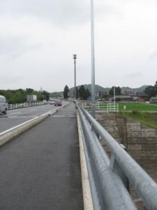 船戸橋先のアンテナ塔