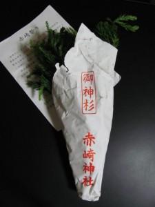 御神杉(赤崎神社)