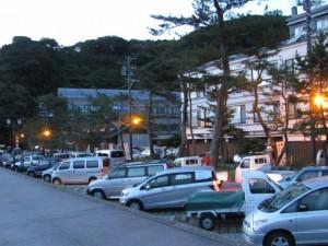 二見興玉神社駐車場