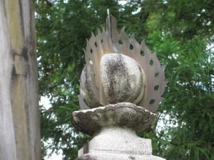 常夜灯(丹生神社)
