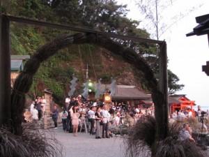 拝殿前(二見興玉神社)