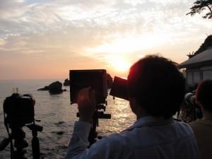 写真家(二見興玉神社)