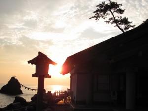 日の出(二見興玉神社)