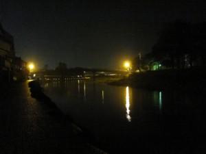五十鈴川と新橋