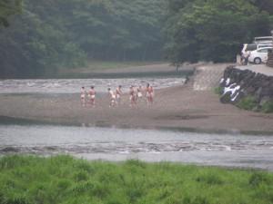 烏帽子岩付近(五十鈴川)