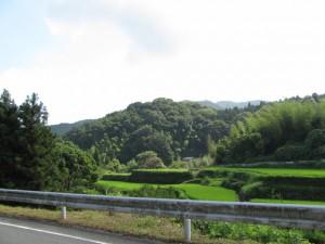 堀坂峠から与原町の分岐へ