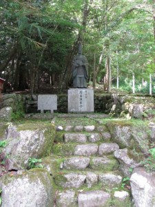 花将軍 北畠顕家公の銅像(北畠神社)