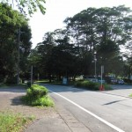 五十鈴公園駐車場付近