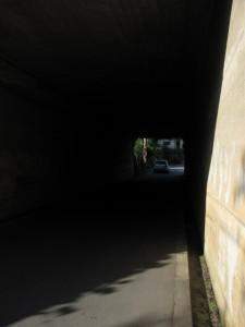 五十鈴公園から伊勢志摩スカイラインをくぐる隧道