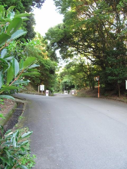 宇治岳道へ(神宮司庁付近)