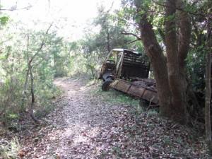 放置トラック - 宇治岳道