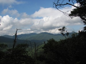 宇治岳道からの風景