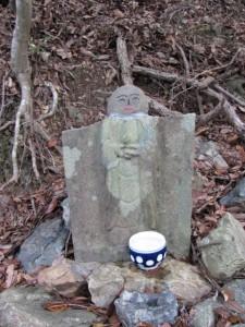 ?地蔵町石(U15) - 宇治岳道