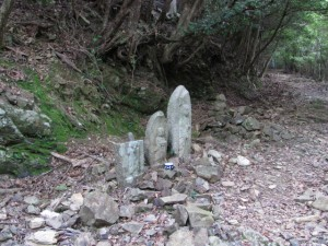 三十五丁地蔵町石(?)等付近 - 宇治岳道