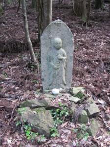 [三]十六丁地蔵町石(U26) - 宇治岳道