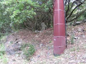 四十丁地蔵町石(U29) - 宇治岳道