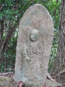 四十五丁地蔵町石(U37)付近 - 宇治岳道