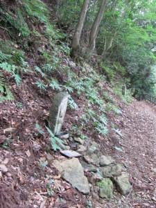 十七丁地蔵町石(A38)付近 - 朝熊岳道