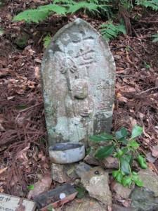 十七丁地蔵町石(A38) - 朝熊岳道