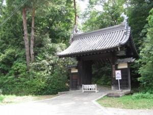 黒門(旧御師福島みさき大夫邸門)