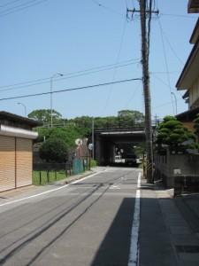 前川銘木店付近(国道23号線の手前)