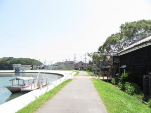 和船みずきと二軒茶屋・川の駅