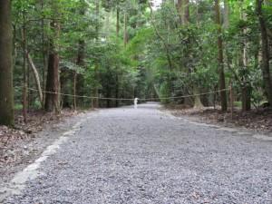 度会国御神社等への参道(外宮)