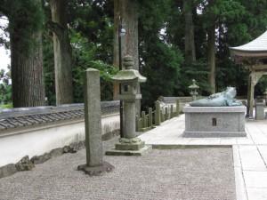 金剛證寺境内 本堂前の道標(D68)