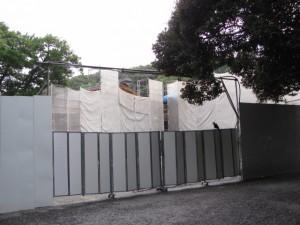 工事中の参集殿(内宮)