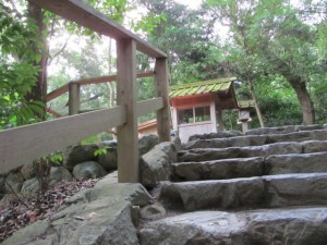 多賀宮への石階(外宮)