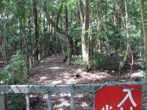 上御井神社の遥拝(外宮)