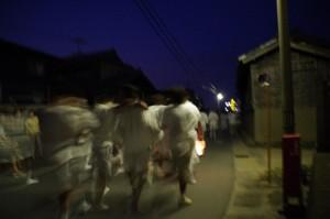 ねり - 西方寺~公民館(大念仏行事)
