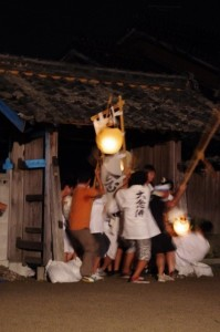 宝林寺山門(大念仏行事)