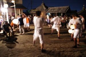 大念仏行事(手筒花火、かんこ踊り他) – 伊勢市御薗町小林 2011年08月15日