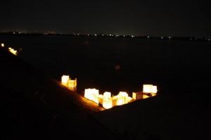 灯篭流し - 宮川(大念仏行事)