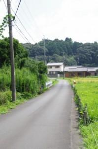 沓掛橋付近