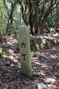 六丁 - 青峰道(磯部道)