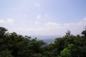 十三丁付近からの眺望 - 青峰道(磯部道)