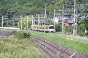 近鉄 松尾駅付近